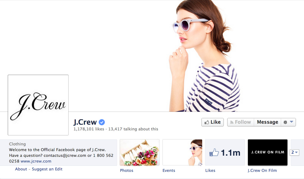J.Crew's Social Media Users Spend Twice As Much As Its Average Customers