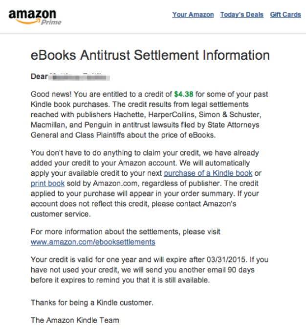 Amazon Might Owe You Money Today