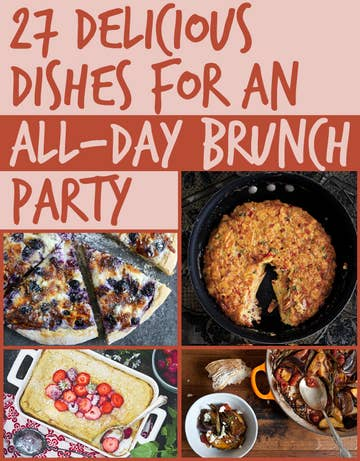 Awesome 27 Delicious Dishes For An All Day Brunch Party Interior Design Ideas Helimdqseriescom