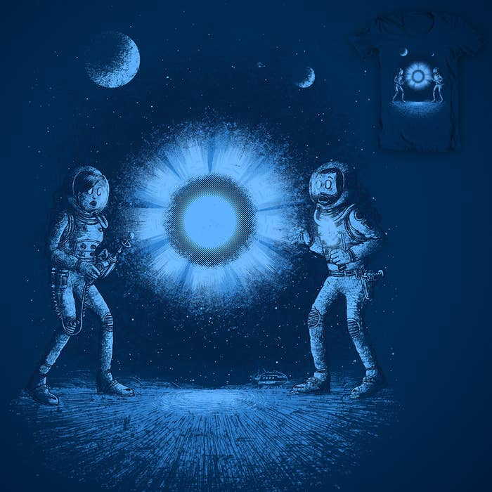 THAT BLUE SPACE THINGY / Design by c_royal