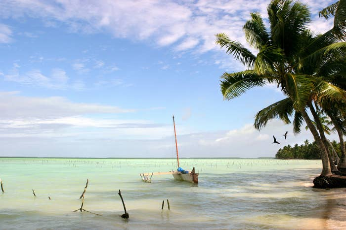Kiribati is the first country to ask for help evacuating its population because climate change has made much of its (tiny amount of) landmass uninhabitable.