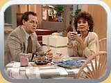 Argue if you must about any other positions, but no one can dispute this as the worst episode of The Golden Girls. Rita Moreno and Paul Dooley star in this backdoor pilot for a spinoff. Only after much heavy retooling was this concept eventually turned into Empty Nest, a good show now mostly forgotten.