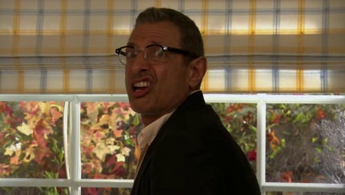 Jeff Goldblum plays Ruksin's Dad who pops up in a couple of episodes throughout the show. Makes the cut for the suggestion of sleeping with his son's super-hot wife, but settling for Andre's sister.