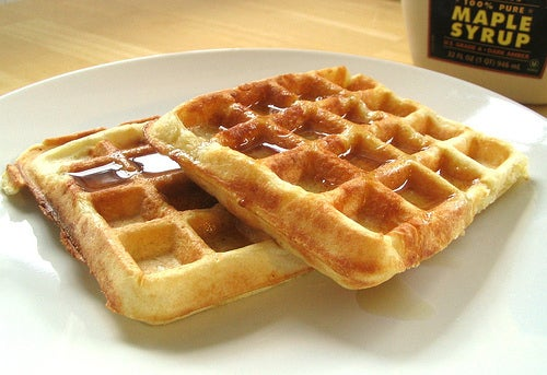Ah, waffles. One of the most cherished and delicious of all breakfast items. Sure they're not as popular as pancakes but what they lack in reputation they make up for in everything else.