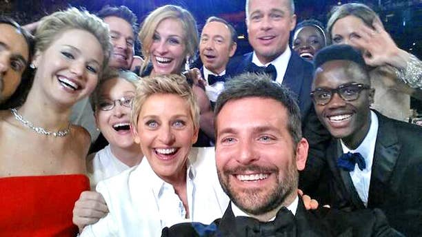 Ellen DeGeneres hosted the 2014 Academy Awards and made history. The comdian and company took a selfie that got over 900K retweets, breaking the record that was previously held by Obama, at 778K retweets. Pretty sure the Internet broke.