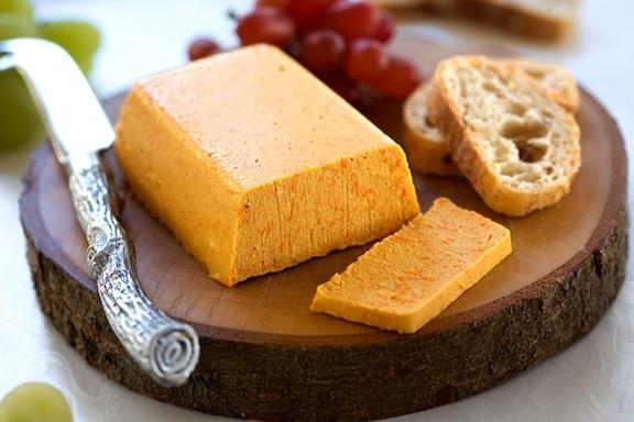 Smoky Vegan Cheddar Cheese