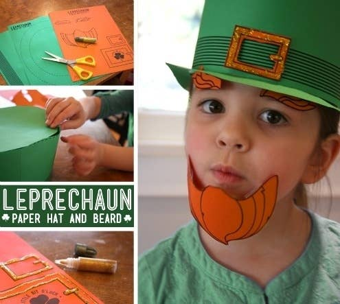 You need photos of your kids wearing these. Download the templates and directions here.