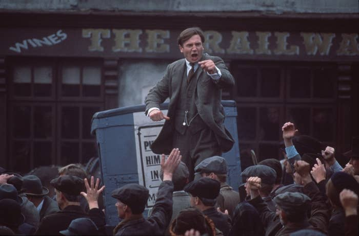 First up: a history* lesson! Sure, Michael Collins isn't the cheeriest of films, but Neil Jordan's biopic of the contentious Irish leader has a lot going for it - not least a star performance from Liam Neeson. The formation of the Irish Republic is serious stuff, but on a day like St Patrick's Day, it's sometimes good to look back and remember how the country got to where it is today.Drink: every time Julia Roberts' American accept slips out.*may not be historically accurate