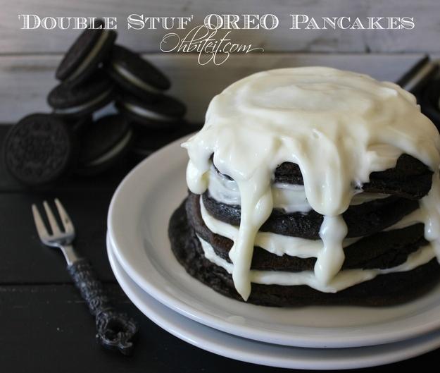 'Double Stuf' Oreo Pancakes