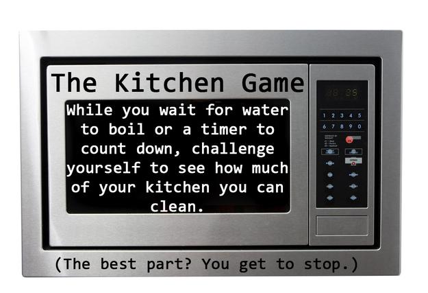 Se você tiver alguns minutos: jogue o Jogo da Cozinha.