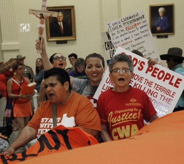 Federal Appeals Court Rejects Challenge To Texas Abortion Restrictions