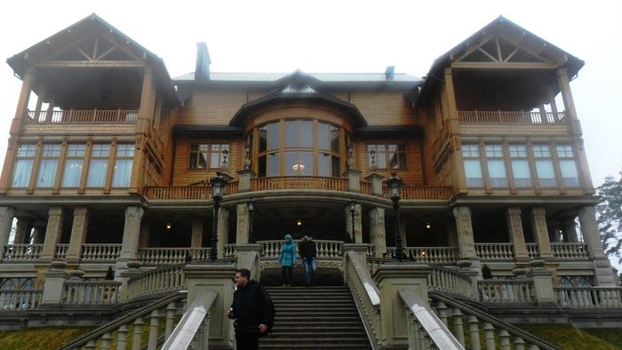 Yanukovych murkily privatized the residence in 2007 through a mysterious Ukrainian firm, Tantalit, whose paper trail stretches through Austrian and British front companies to an offshore entity in Lichtenstein. Little is known about Tantalit's director, Pavel Litovchenko, other than that he used to work for Yanukovych's eldest son, Alexander, and then served as the family's lawyer. Lawmaker Sergei Kluyev, whose brother Andrei was Yanukovych's right-hand man, took over the estate in August 2013. Activists now want the state to turn it into the world's first museum of corruption.