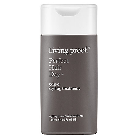 This multitasking product works as a styling agent and a conditioner while providing heat and UV protection for damaged or dyed hair.