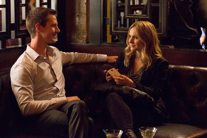 Jason Dohring and Bell in Veronica Mars
