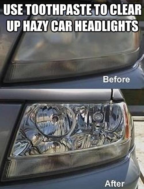 Se você tiver mais ou menos meia hora: limpe a parte externa do seu carro.