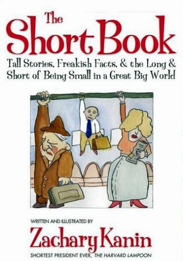 Who knew that science could be funny? Kanin's humor and fantastic illustrations make this book on scientific facts about being short a fun read. It doesn't hurt that he throws in some facts on celebrities and superheroes, either.