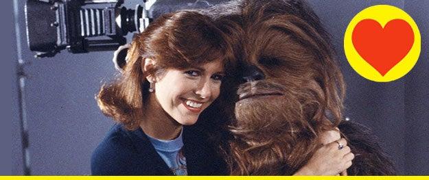 """Star Wars"" behind-the-scenes Instagrams reveal Chewbacca's origin! - [Rolling Stone]"