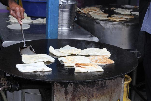 Roti Canai (Flatbread)