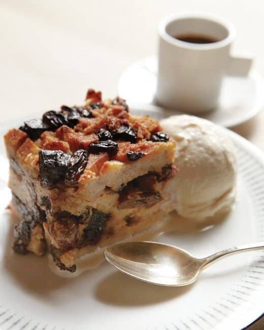 16 Bagel Pudding With Prunes And Raisins