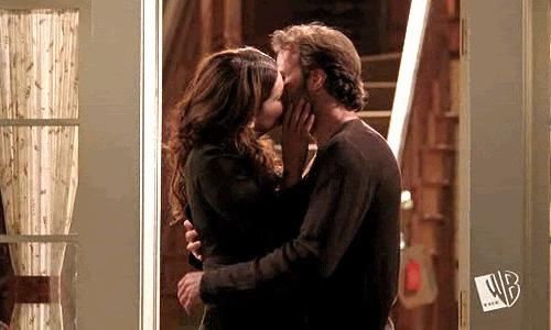 luke e lorelai bacio