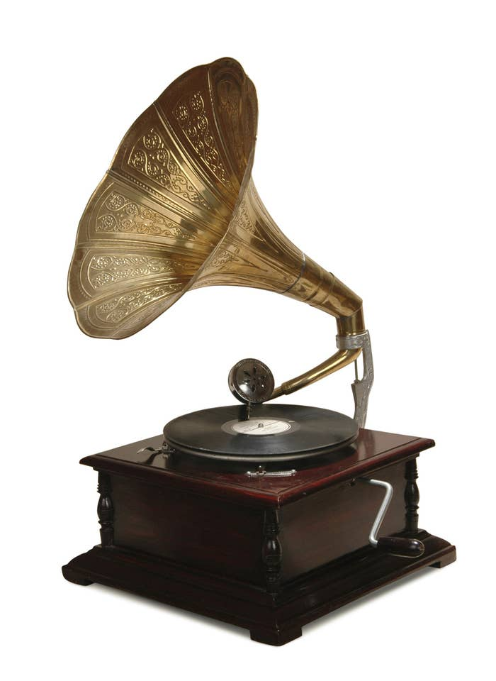 Originally a device allowing sound to be recorded onto wax cylinders, Thomas Edison's phonograph evolved into the precursor of the modern turntable, using bakelite records. The oldest sound recordings that still exist all came from early phonographs.What difference did it make?The phonograph kickstarted both the home audio revolution and the music industry in one fell swoop. Suddenly, music could be enjoyed at almost any time, any place — and people just wanted more and more.