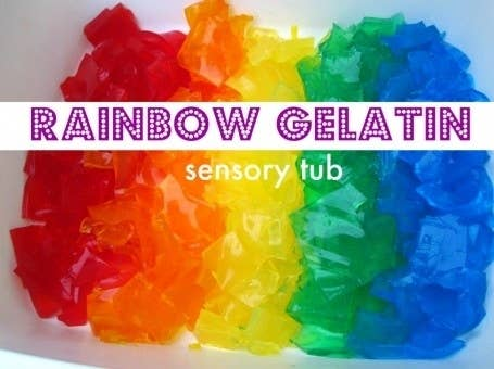This is a fun and educational sensory activity for younger kids. Find the tutorial here.