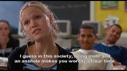 15 Best Quotes From 10 Things I Hate About You: 21 Incredibly Offensive Things That You Should Never Say