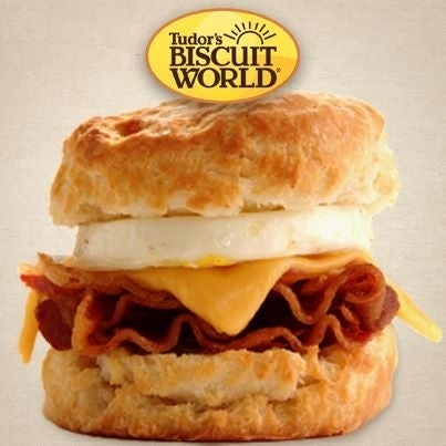 Because everybody deserves a biscuit the size of your head when you're hungover. Long live the Mary B.