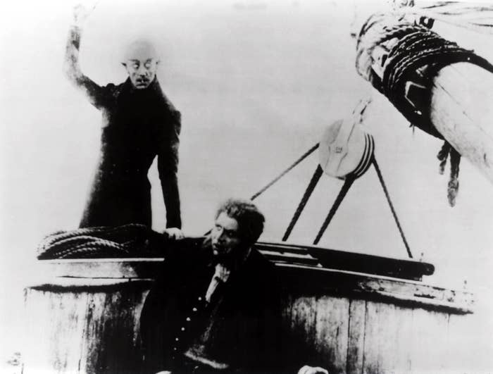 Count Orlok proves that a man's bloodlust, while strong, is not immune to the lure of a woman's beauty — that beauty leading to one's ultimate demise.