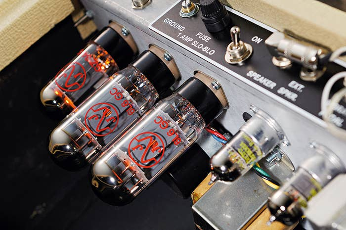 The first instrument amplifiers were clumsy, battery-driven devices popular with Hawaiian lap steel guitarists in the 1930s.As rock music grew in popularity, demand for 'something bigger' led to the creation of the first Marshall Amplifier in 1961, with higher wattages and multiple speaker cones which could be added to by linking multiple speaker cabinets together. Suddenly, the sky was the limit when it came to volume and power.What difference did it make?The importance of the amplifier can't be underestimated: without them the world wouldn't have discovered distorted guitar.