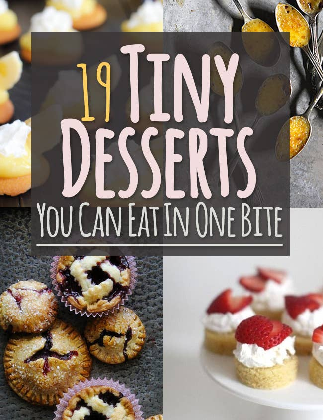 19 tiny desserts you can eat in one bite share on facebook share forumfinder Gallery