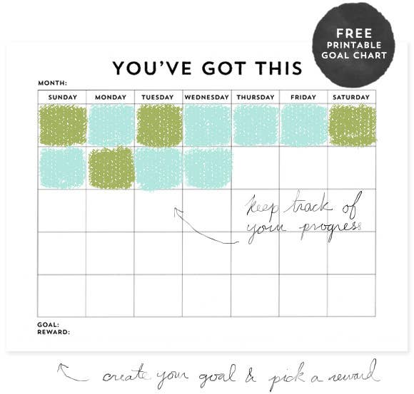 first goal print this chart get it here