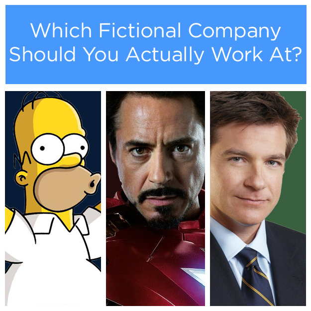 Which Fictional Company Should You Actually Work At?