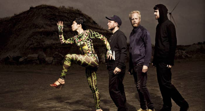 Little Dragon is an electro-pop band from Gothenburg, Sweden.