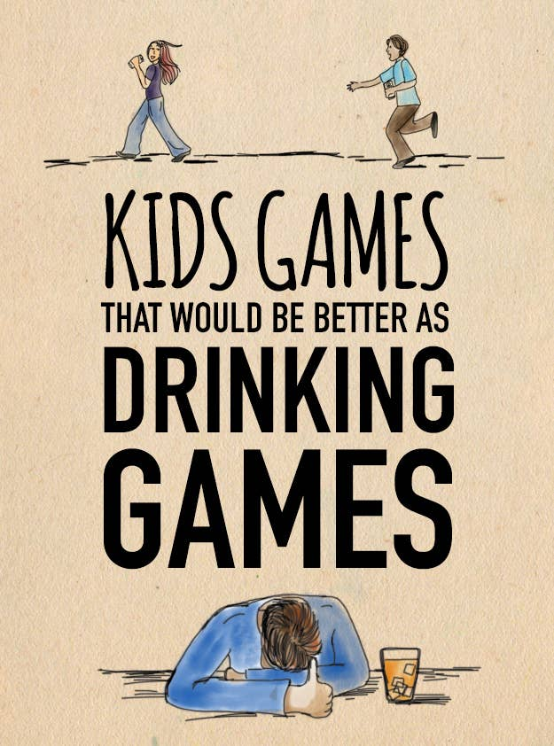 Kids Games That Would Be Better As Drinking Games - Four corners drinking game