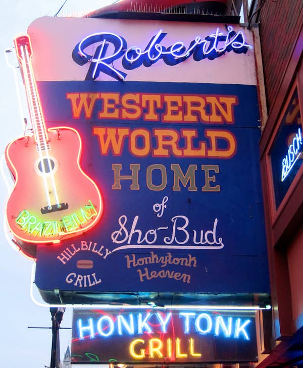Want to have your heartstrings pulled while hanging out with your friends? Come to Robert's Western World and listen to some soulful honky-tonk.