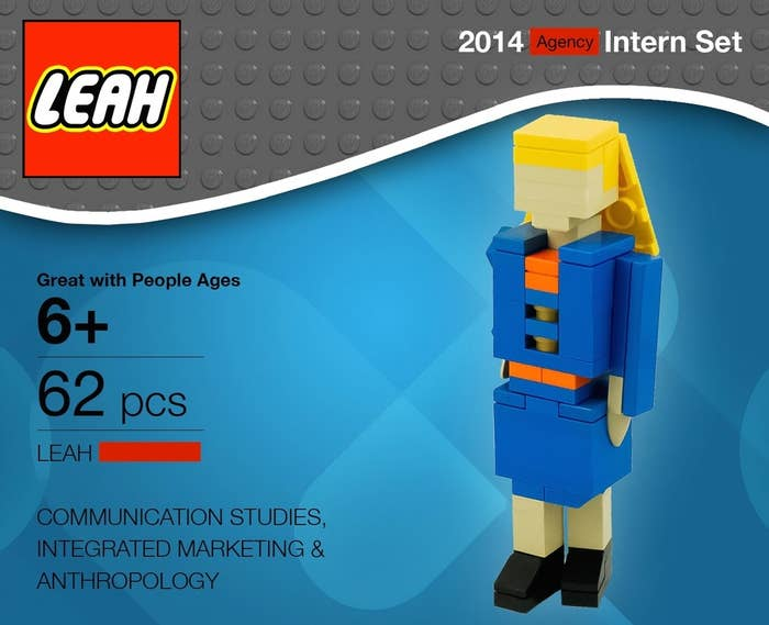 Her name even looks right in the lego logo!