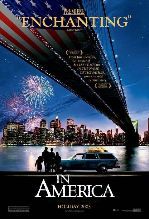 An Irish family dealing with tragedy emigrate to the United States and settle in Manhattan. The film was Oscar nominated for Best Actress, Best Supporting Actor and Best Original Screenplay, and is considered Djimon Hounsou's breakout performance.
