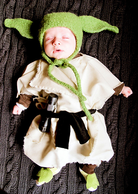 How To Make A Baby Yoda Hat Inside