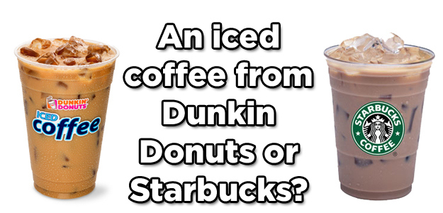 starbucks coffee and dunkin donuts a comparative Starbucks as an international business 5 will be examined in this thesis are starbucks, mcdonald's mccafe, and dunkin donuts coffee the dominant economic.