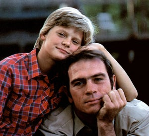 Plimpton with Tommy Lee Jones in The River Rat.