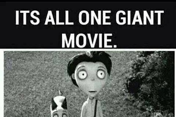 ALL Of Tim Burton's ORIGINAL Films Are Connected!