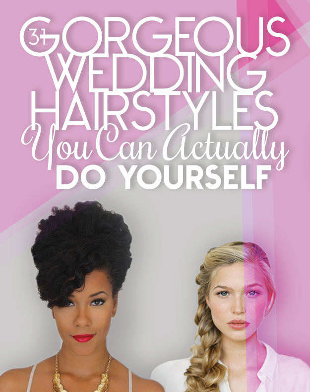 Do-it-yourself wedding hairstyles pictures