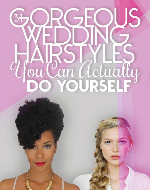 31 Gorgeous Wedding Hairstyles You Can Actually Do Yourself