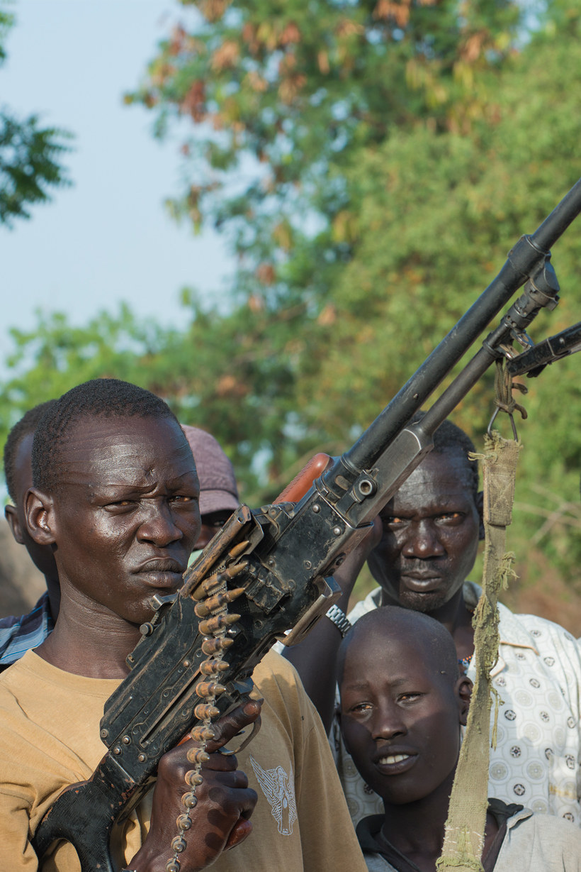 Tragic Photos Of The South Sudan Conflict From The Starving Town Of Ganyliel