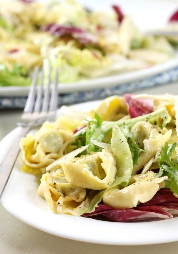 7. Tortellini Caesar Salad