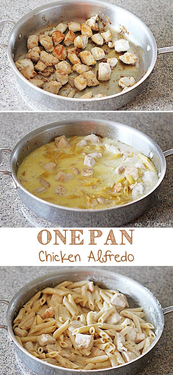 21 simple one pot pastas one pan chicken alfredo get the recipe forumfinder Gallery