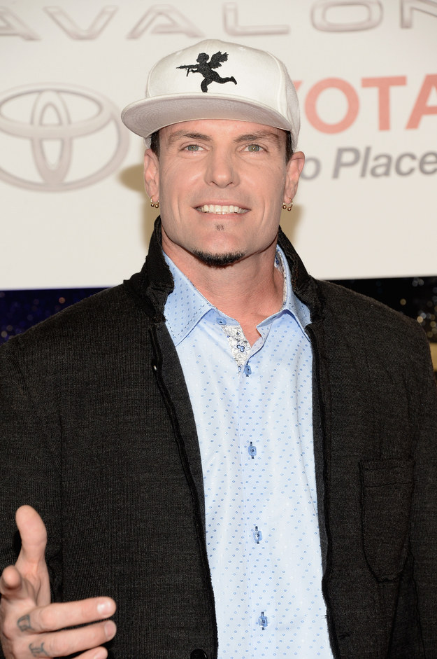 Vanilla Ice — possession of a firearm, assault and battery.