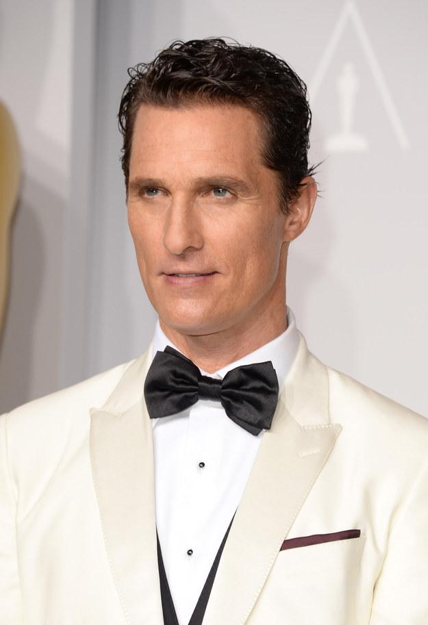 Matthew McConaughey – drug possession.