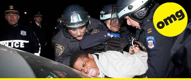 Ooopsies!! The NYPD only wanted pics of the good times you've had with them, you guys. - [Salon]